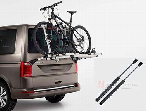 resorte porta bicicletas muelle maletero vito struts de gas springs