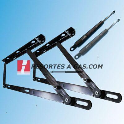 Kit bisagra canape abatible suspa liftline stabilus hidraulica compas struts de gas springs