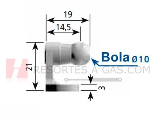 medida 9222SJ bracket