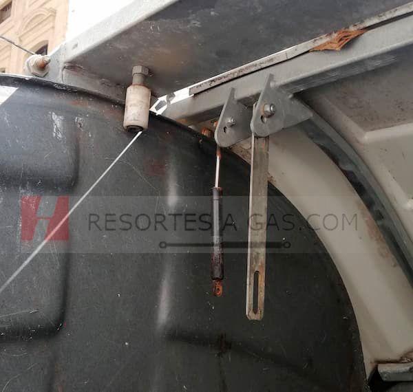 amortiguadores de contenedores basura